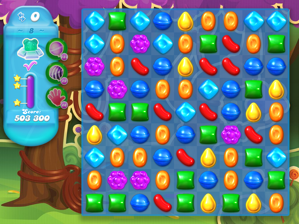 Candy crush soda from sideway for Candy crush fish
