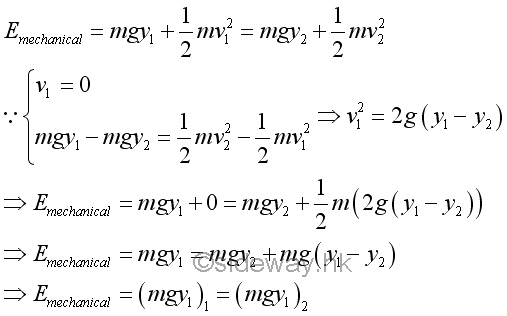 Total Energy Formula i... Formula Of Mechanical Energy